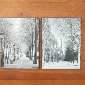 Paris Photography Art Prints set by Cyndi Schtick